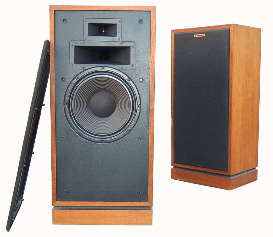 13 ) KLIPSCH - Speakers - Rewind Audio Vintage HI-FI