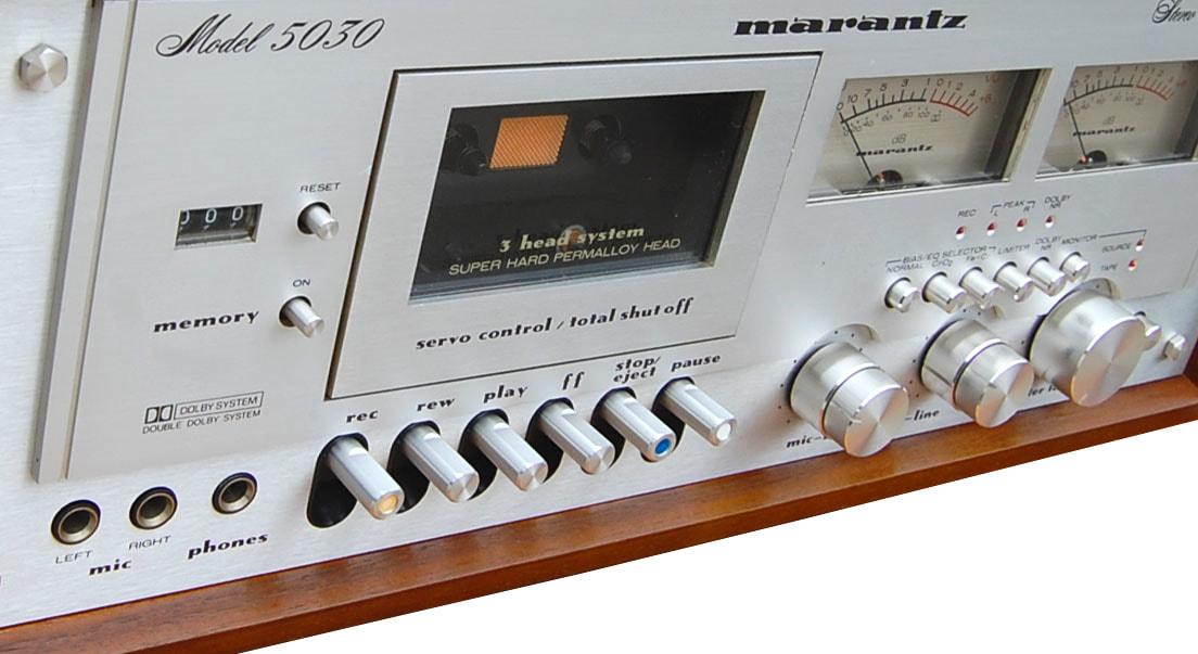 Marantz 5030 Cassette Player for Rent - Rewind Audio Vintage HI-FI